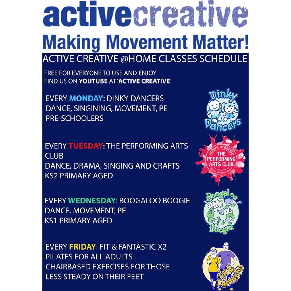 Active Creative You Tube is now LIVE!